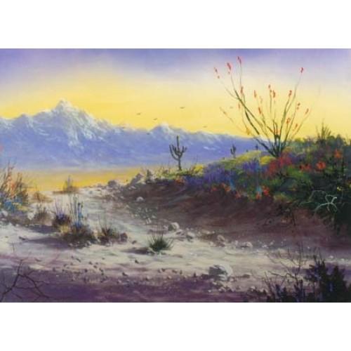 Landscape Art Painting Acrylic
